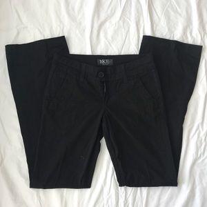 BKE Black Stitch Pants